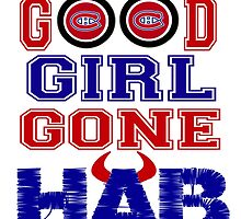 Good Girl Gone Hab! - Montreal Canadiens by F4FShoppe