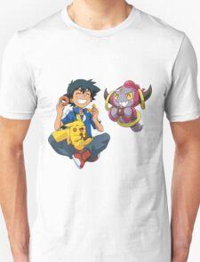 Hoopa and Satoshi T-Shirt