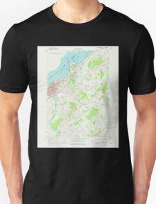 New York NY Ogdensburg East 128854 1963 24000 T-Shirt