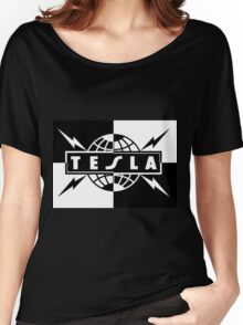 tesla band tour dates logo  Women's Relaxed Fit T-Shirt
