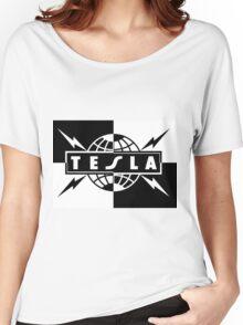 tesla band tour dates logo  Women's Relaxed Fit T-Shirt