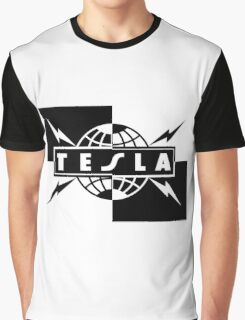 tesla band tour dates logo  Graphic T-Shirt