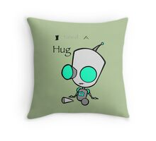 Gir Needs a Hug Throw Pillow