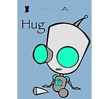 Gir Needs a Hug Photographic Print