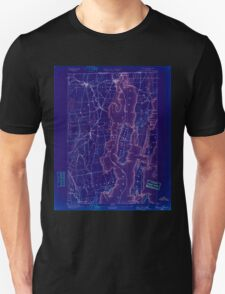 New York NY Rouse Point 148368 1895 62500 Inverted T-Shirt