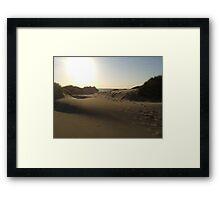 Sanddunes in Schoorl, Holland Framed Print