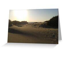 Sanddunes in Schoorl, Holland Greeting Card