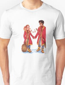 Quidditch Harry and Ginny T-Shirt