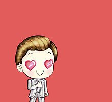 Peeta in Love (Valentine's Day Clipart) by TheBeanStudio