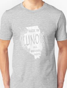 illinois t-shirt. illinois tshirt for him or her. illinois tee as a illinois idea gift. A great illinois gift with this illinois t shirt T-Shirt