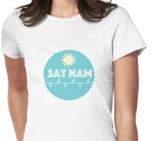 Sat Nam  Womens Fitted T-Shirt