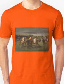 Edgar Degas - At the Races The Start (c. 1860 - c. 1862) Unisex T-Shirt