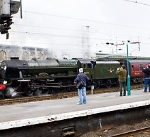 46115 SCOTS GUARDSMAN Steam Locomotive by Keith Larby