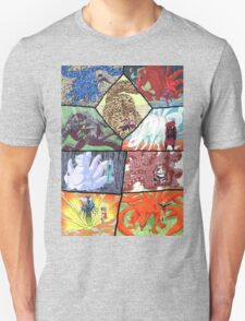 Jinjuriki and the tailed beast T-Shirt