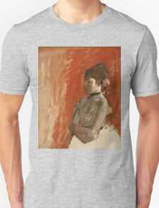 Edgar Degas - Ballet Dancer with Arms Crossed ( 1872) T-Shirt