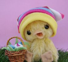 Handmade bears from Teddy Bear Orphans - Deidra Duckling by Penny Bonser