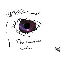 A Child's Eye Holds The Universe Photographic Print