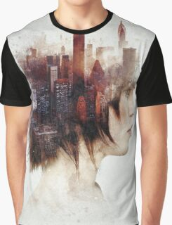 Surrealism in the City Graphic T-Shirt