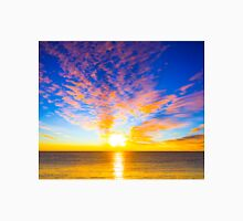 Beautiful sunset over the ocean Unisex T-Shirt
