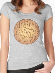 St. Alfonzo's Pancake Breakfast Women's Fitted Scoop T-Shirt