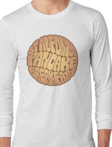 St. Alfonzo's Pancake Breakfast Long Sleeve T-Shirt