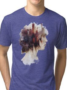 Surrealism in the City Tri-blend T-Shirt