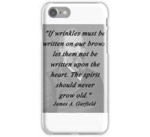 Garfield - Wrinkles iPhone Case/Skin