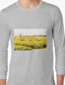 Rural landscape in Holland Long Sleeve T-Shirt