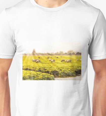 Rural landscape in Holland Unisex T-Shirt