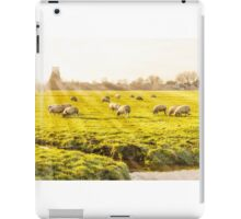 Rural landscape in Holland iPad Case/Skin