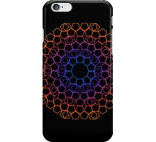 color lace on black iPhone Case/Skin