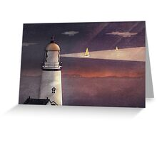 Sea of Light Greeting Card