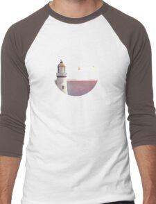 Sea of Light Men's Baseball ¾ T-Shirt