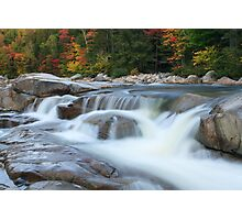 Lower Falls, Swift River, Kancamagus Highway, White Mountain National Forest, New Hampshire Photographic Print
