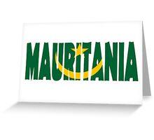 Mauritania Greeting Card