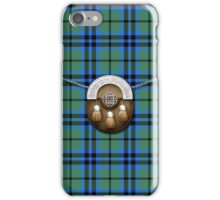 Clan Keith Tartan And Sporran iPhone Case/Skin