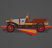 Chitty Chitty Bang Bang - Black by David Wildish