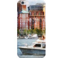 Maryland - Cabin Cruiser by Baltimore Skyline iPhone Case/Skin