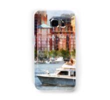Maryland - Cabin Cruiser by Baltimore Skyline Samsung Galaxy Case/Skin