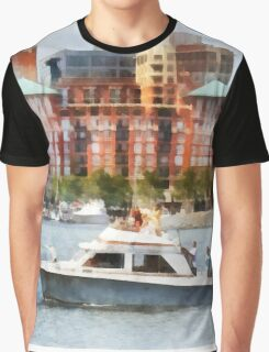 Maryland - Cabin Cruiser by Baltimore Skyline Graphic T-Shirt