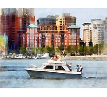 Maryland - Cabin Cruiser by Baltimore Skyline Photographic Print