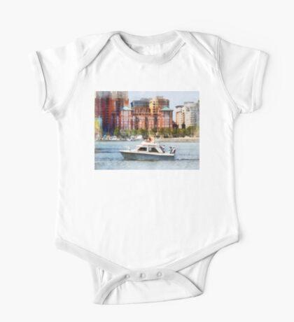 Maryland - Cabin Cruiser by Baltimore Skyline One Piece - Short Sleeve