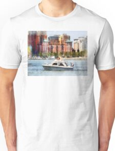 Maryland - Cabin Cruiser by Baltimore Skyline Unisex T-Shirt