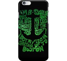 Shipping Up To Boston iPhone Case/Skin