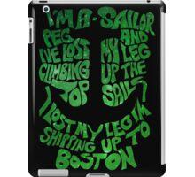 Shipping Up To Boston iPad Case/Skin