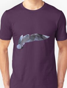 Low Poly Flying Seagull T-Shirt