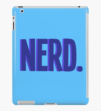 Cool Nerd iPad Case/Skin