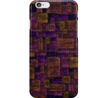 Sunset Glass Squares iPhone Case/Skin
