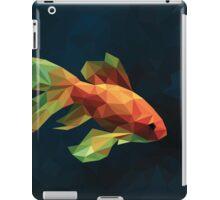 Low Poly Fancy Goldfish iPad Case/Skin
