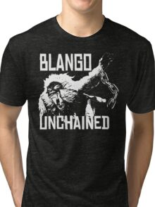 Monster Hunter Blango Unchained Design Tri-blend T-Shirt
